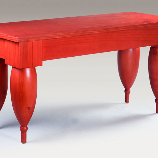 DMG Red dining table